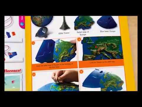 My 3D Globe South Africa