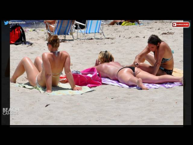 Girls at the beach! - S01E04 - another Beach Candids episode with beautiful girls at the the beach!