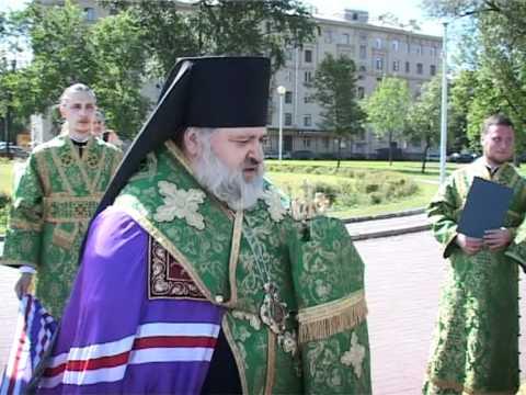 видео: Cлово перед молебном на Ломоносовской