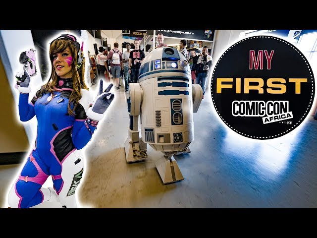 First Comic Con in South Africa