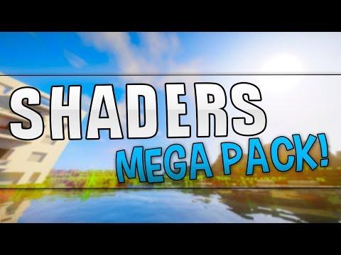 Los MEJORES Shaders para MINECRAFT 1.8 a 1.12 (Shader Pack +40) SIN LAG!
