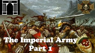 Total War:Warhammer Factions The Empire Army Part 1