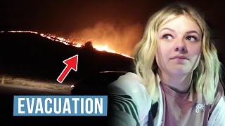 EVACUATION! Fire Is coming to Our House | Power Outage | The LeRoys