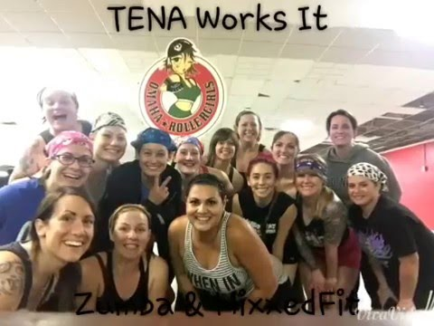 Omaha Rollergirls- TENA Works It, workout