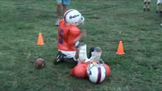 Big Football Hit-Helmet to Helmet