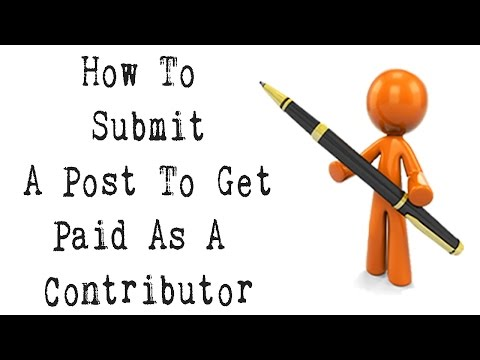 Post articles online