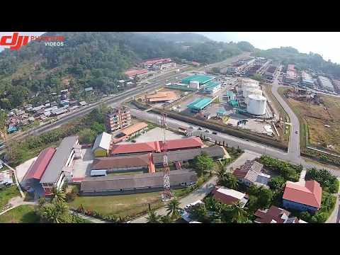 Dji Phantom 2 vision plus - Sandakan, Sabah from the sky