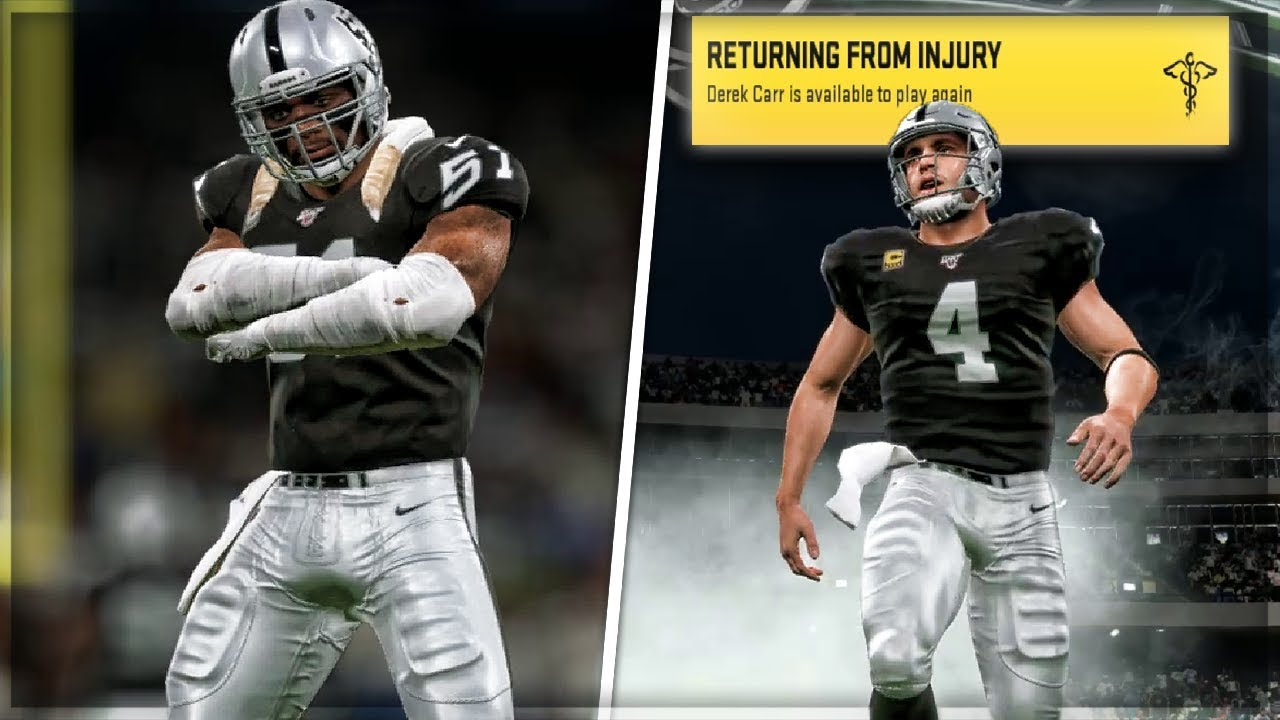 new product 04342 02f4d Throwback Uniforms + CARR IS BACK! | Madden 20 Raiders Franchise Mode | Ep.  6