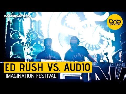 Ed Rush VS. Audio - Imagination Festival 2014 [DnBPortal.com]