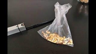 D-STYLIST スモークインフューザーを使って、ビニール袋に入ったナッツを燻製に! thumbnail