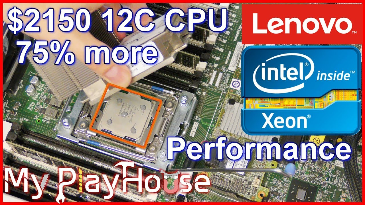 $2150 Intel Xeon E5-2687W V4 12C 3.0GHz in x3650 M5 - 854