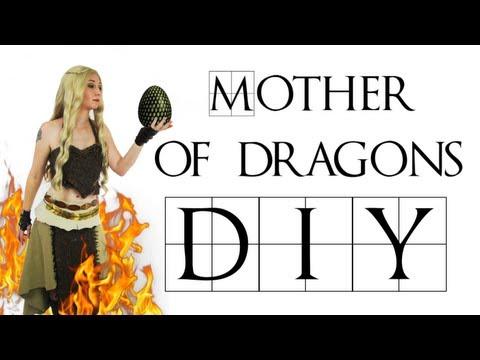 Game Of Thrones DIY Khalessi Costume - Daenerys Targaryen - Mother Of Dragons