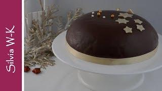 Fruchtbombe / Weihnachtstorte / Obsttorte / Kuppeltorte / Torte