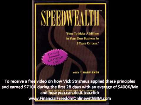 Speed Wealth How to Make a Million in 3 years or Less – T. Harv Eker