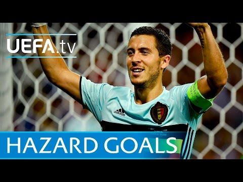Eden Hazard - Five great goals
