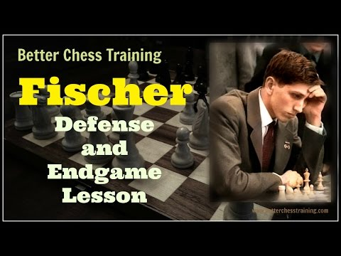 Bobby Fischer Defense and Endgame Lesson | Rook and Pawn Endgame | Annotated Game