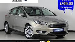 Ford Focus 1.5 EcoBoost Titanium X Hatchback Auto 5dr