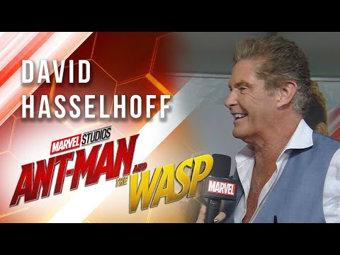 David Hasselhoff at Marvel Studios' Ant-Man and The Wasp Premiere