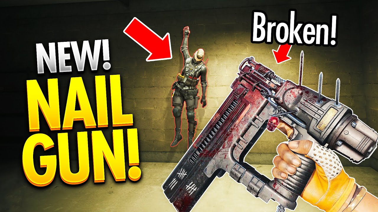 *NEW NAIL GUN* Warzone WTF & Funny Moments #460