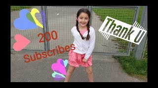 Celebrating hitting 200 subscribers and plane watching - Ellie's Little Kingdom