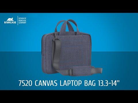 RIVACASE 7520 Canvas Laptop bag 13.3