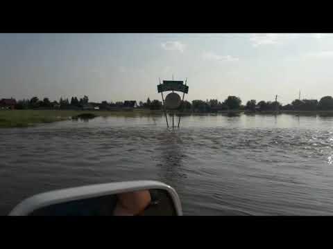 Потоп в окрестностях села Бирюса