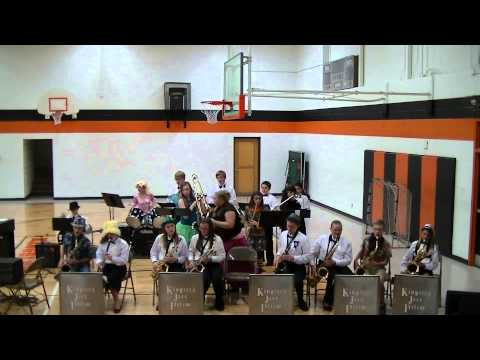 Kingsley MS Halloween Concert 2013 Jazz Band Rock the House