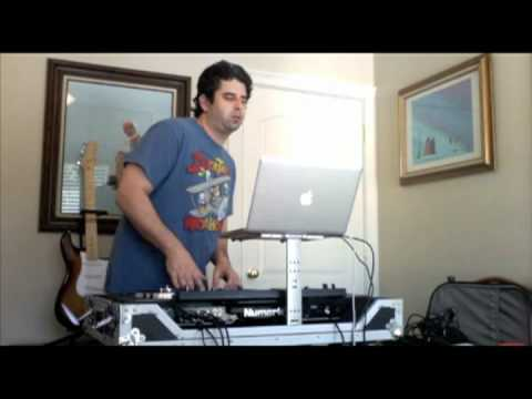 Controllerism - DJ Buddy Holly Scratching Numark NS7 Fat Joe, Ja Rule, Jadakiss - New York