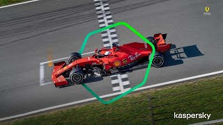 #10Years — Kaspersky together with Scuderia Ferrari since 2010