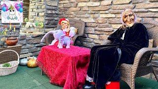 Баба Яга и Аленушка или Аливия, как Аленушка #BabyAlive #детскийканал #видеодлядетей #развлечения