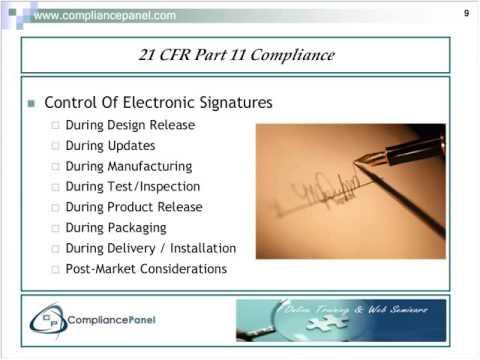 FDA QSR Requirements for DMR & DHR