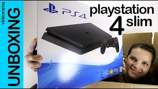 PlayStation 4 Slim unboxing en español | 4K UHD(, 2016-10-04T14:16:14.000Z)