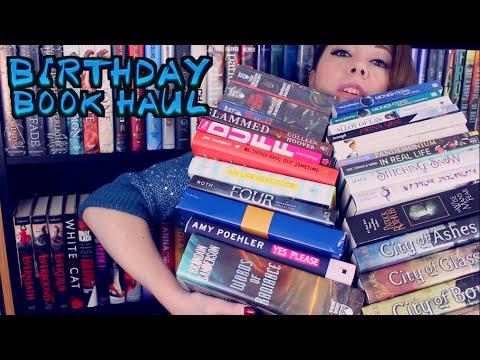 BIRTHDAY BOOK HAUL