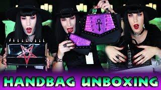 Epic Handbag Unboxing: Black Friday, The Goblin Queen, Drac, Mahafsoun + MORE  | Avelina De Moray