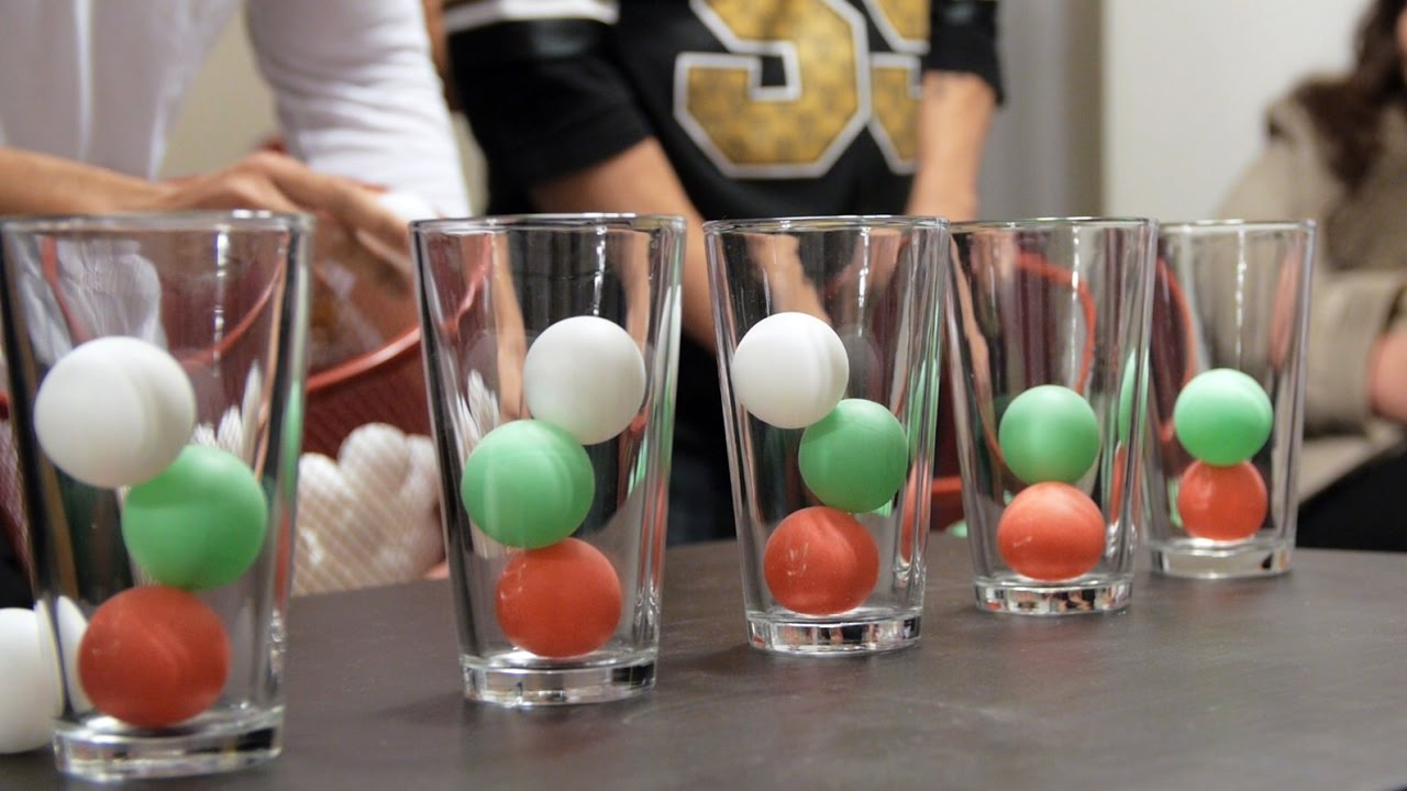 Ping Pong Ball In A Cup: Volume 1 - YouTube