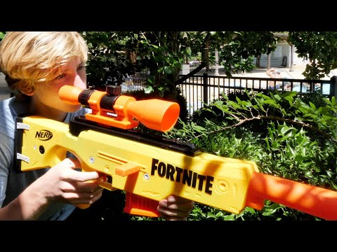 Nerf Snipers: The Ultimate Battle