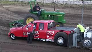 Two Wheel drive truck pulls