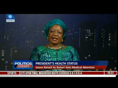 Buhari Is A Private Citizen, No One Has Right To Demand His Health Status -- Onochie
