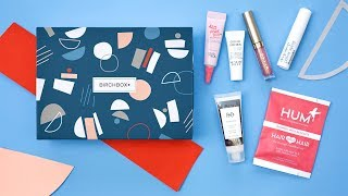 Birchbox Customization: September 2018