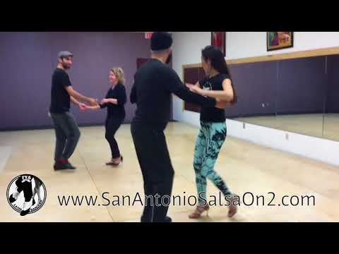 Partner work demo 12/6/17- San Antonio Salsa On2