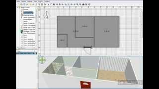 Уроки Sweet Home 3D.Как работать с окнами и дверями