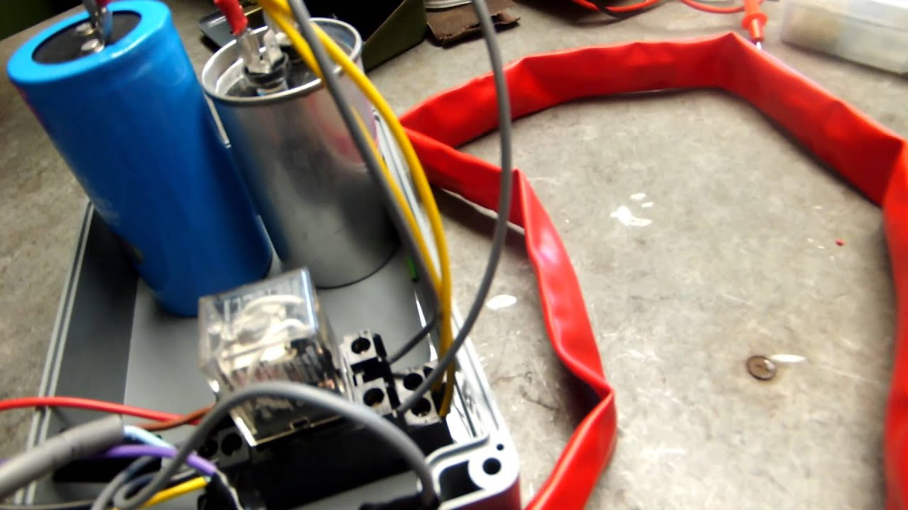 Single To 3 Phase Converter Milling Machine Youtube Wiring