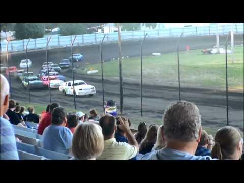 nielsen racing Algona Raceway 7-31-13