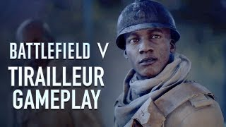 BATTLEFIELD V Single Player Gameplay - Tirailleur (War Stories)