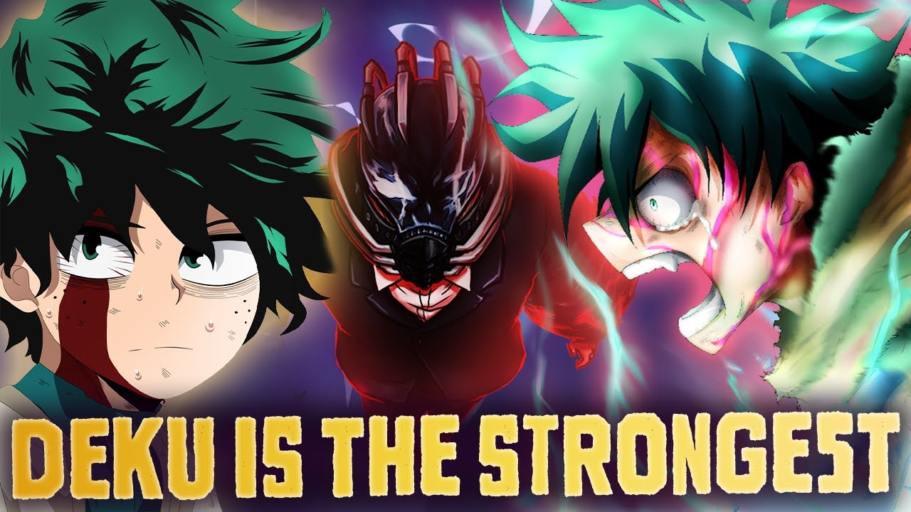 The Innocent Deku is Dead, He Just Became The Strongest Hero! All For One Message (My Hero Academia)