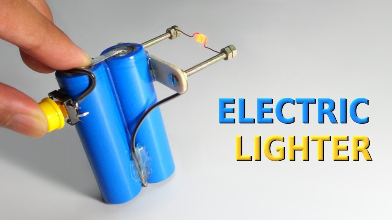 How to make an Electric Lighter at home - YouTube