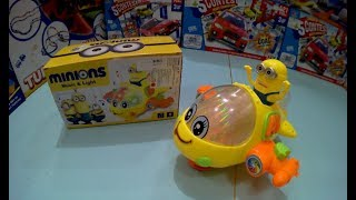 HELICOPTER MINIONS Unboxing toys for kids