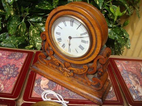 Antique  Old French  R & C Platform Escapement  Timepiece Mantle  Mantel Clock