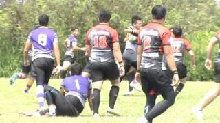 Curtin University 7s 2015 Cup Quarter Final : Bintulu Rugby Club vs OSCA Warriors