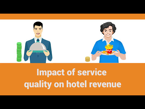 Impact of service quality on hotel revenue
